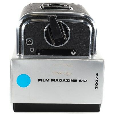 Hasselblad A12 Film Back for 500C/M 501CM 503CW SWC905 503CX FlexBody SWC/M RS31