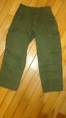 VINTAGE Peerless Garments Combat modified Canadian Military Trouser Pants small