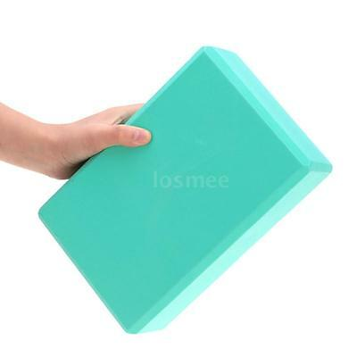 EVA Yoga Exercise Block strength muscles FASHIONAL SPORTS Outdoor Green WB L9J9