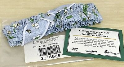 Longaberger Small Garter in Daisy 1999
