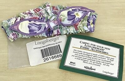 Longaberger Small Garter in Morning Glory