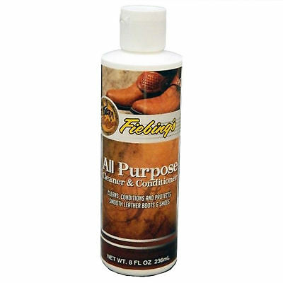 Fiebing's All Purpose Leather Cleaner and Conditioner 8 oz / 236 ml Bottle