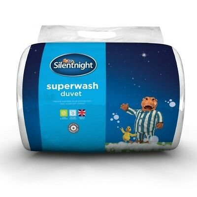 Silentnight Superwash 10.5 Tog Microfibre Duvet Warm