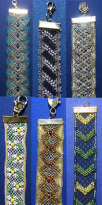 Torchon Beaded Bracelets Kits - Original Design by Harlequin Lace Torchon
