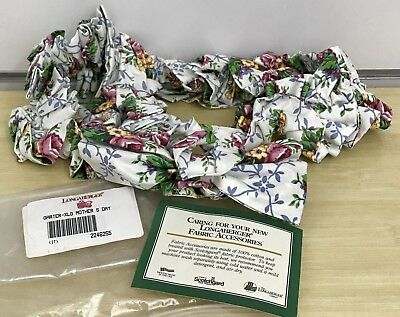 Longaberger Extra Large Garter in Mother's Day Floral Scallop