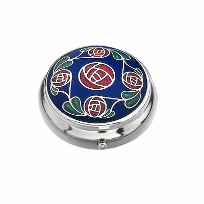 Pill Box, Mackintosh Rose, Health Care, Mints, Nights Out, Gifts,Sea Gems 8923BL