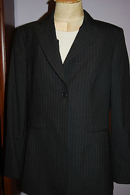 NWT Crave UK Maternity Pinstripe Suit Jacket - Large (US)  SIze 12