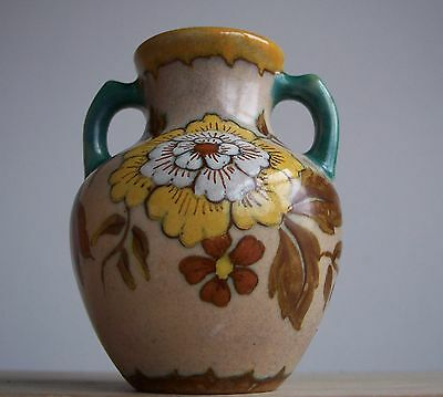 Vintage 1960s-1970s Dutch Pottery GOUDA Holland small Vase