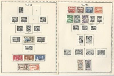 Antigua Collection 1862-1974 on Minkus Specialty & Scott International Pages