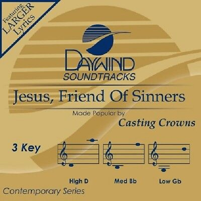 Casting Crowns -Jesus Friend Of Sinners - Accompaniment/Performance Track – New