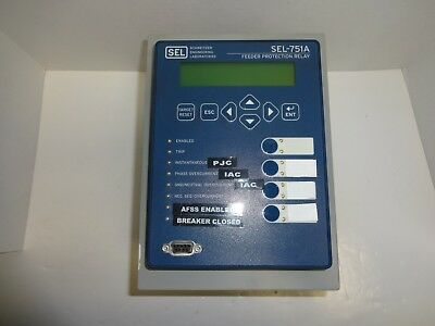 Schweitzer Engineering Lab 751A01H1H0X72851310 SEL-751A Feeder Protection Relay