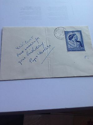 1948 Wedding stamp  original  £1 wedding First Day Cover