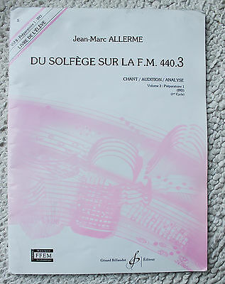 Du solfège sur la FM 440.3 - Chant Audition Analyse - JM Allerme