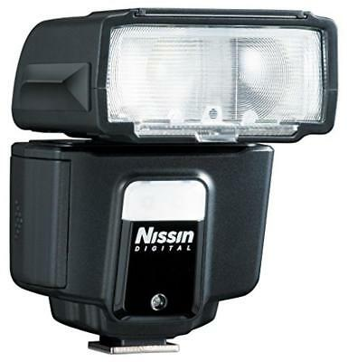 Nissin i40 Compact flash Black - camera flashes (61 mm, 85 mm, 85 mm, 203 g, 3.5