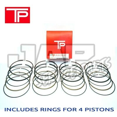 TPR JAPAN OEM PISTON RING SET x4 | Honda Civic CRX 1.6 D16ZC D16A9 D16Z6