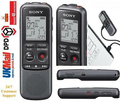SONY ICD-PX240  DICTAPHONE DIGITAL VOICE RECORDER 4GB usb connect with pc
