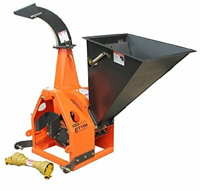 "6"" Gravity Feed Drum Wood Chipper 3pt"