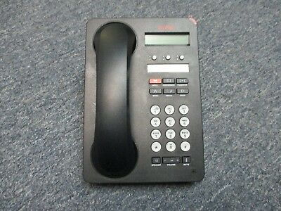 Avaya IP Office 500 1603-I 700476849 IP VOIP 3 Button Display Telephone Black