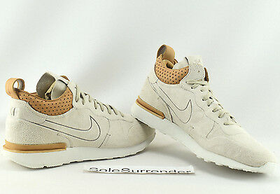 competitive price 420ca b42ee Nike Internationalist Mid Royal - SIZE 10 - NEW - 904337-200 Sandtrap Tan  Lab