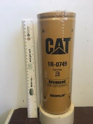 Caterpillar 1R-0749 Fuel Filter Cat 1R-1712, 416-1225