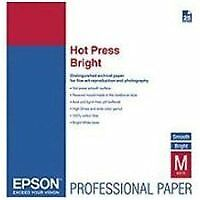 Epson Hot Press Bright - Papel de algodón, 24