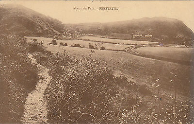 Mountain Path & Railway, PRESTATYN, Flintshire