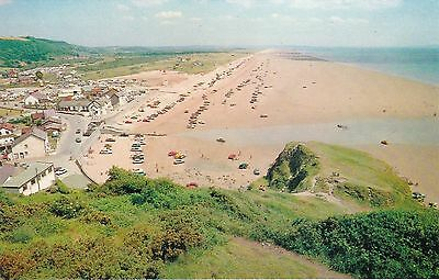 The Sands & Parked Cars, PENDINE, Carmarthenshire
