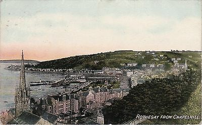 View From Chapel Hill, ROTHESAY, Isle Of Bute