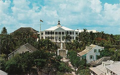 Front View Of Government House, NASSAU, Bahamas