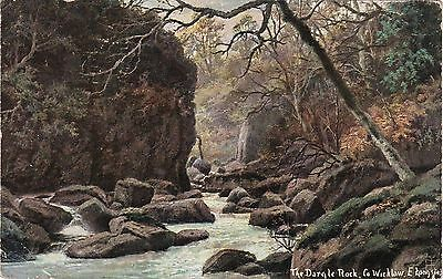 Artist Drawn, Dargle Rock, Nr BRAY, County Wicklow, Ireland - Longstaffe