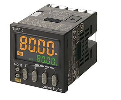 Omron Multi Function Timer Relay, Screw, 0.001s-9999h, 100-240Vac