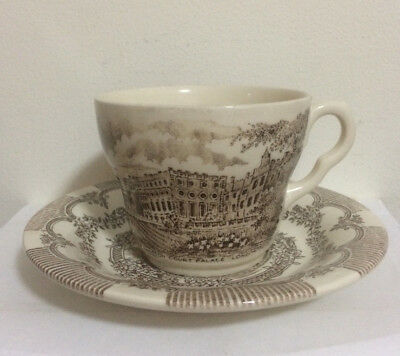 EIT Ltd Cup And Saucer Set - Made In England - Beautiful Design