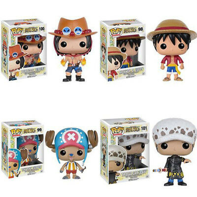 Funko POP One Piece Cute character Anime Luffy Chopper Ace Law Action Figure toy