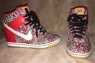 new arrival 137cb 0844b Nike Dunk Sky Hi Liberty Of London 529040-600 Sz 7
