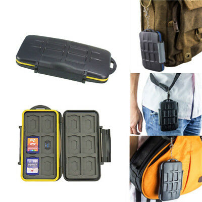 Waterproof Shockproof JJC MC-SD Storage Memory Card Case For 12 SD +12 TF Cards