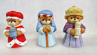Lucy and Me ~ Three Wisemen ~ Porcelain Figurine