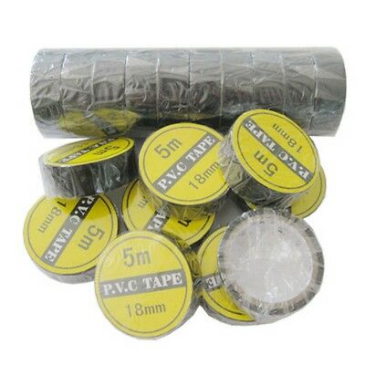 1Pc 3.5M Vinyl Electrical Tape Insulation Adhesive Tape Black Home Use Tools