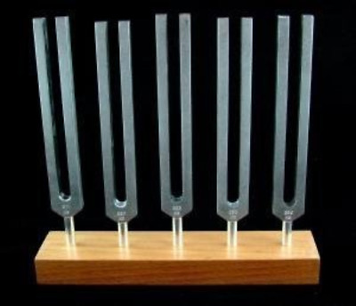 5 Piece Brain Tuners Set - Aluminum Body Tuning Forks
