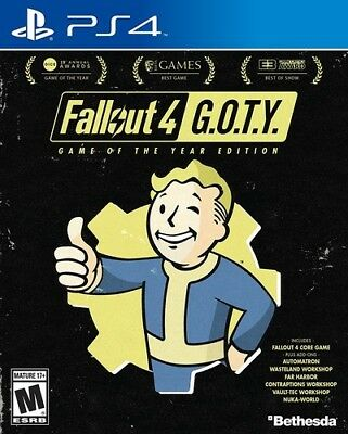 Fallout 4 - Game of the Year Edition for PlayStation 4 [New PS4]
