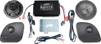 J & M Rokker XXR Extreme 2 Speaker And Amplifier Kit XXRK330SP215RG