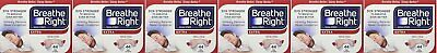 Breathe Right, Extra Strong Nasal Strips One Size Fits All 44 Count Gxswc Pack 6