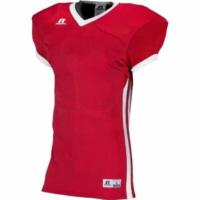 Russell Youth Compression Color Block Game Football Jersey