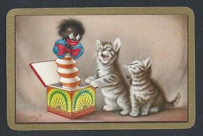 "#500.002 vintage swap card -MINT- Named ""Golli"" with a y"