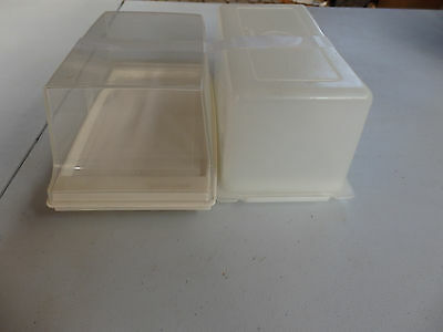 Two Smaller Tupperware   Cheese/Buttter Containers