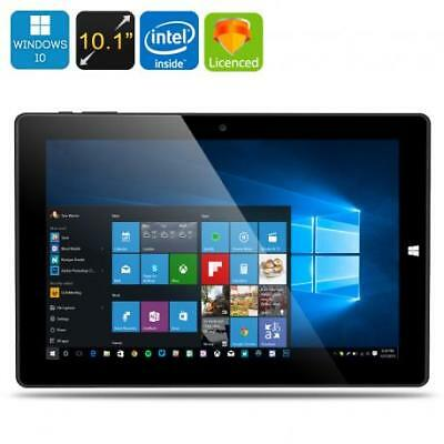 Chuwi Hi10 Ultrabook Tablet PC - Licensed Windows 10 + Android 5.1, 64Bit CPU, 4