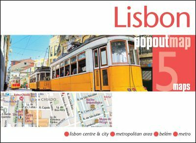 Lisbon PopOut Map by Compass Maps (Sheet map, folded, 2017)