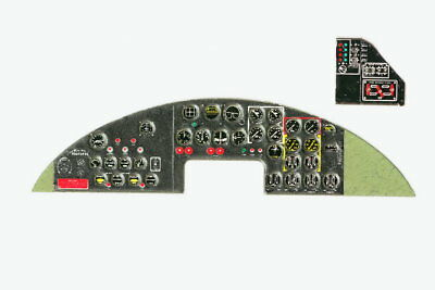 Yahu Models 1/48 B-17G Flying Fortress Panel for Hasegawa/Monogram/Revell