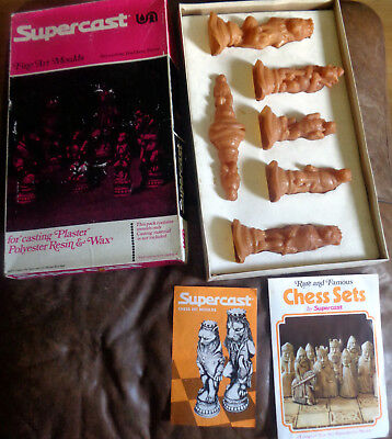 Supercast  Reynard the Fox fine art chess moulds molds