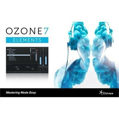 iZotope Ozone 7 Elements (REDUCED PRICE FOR 48HRS!!)