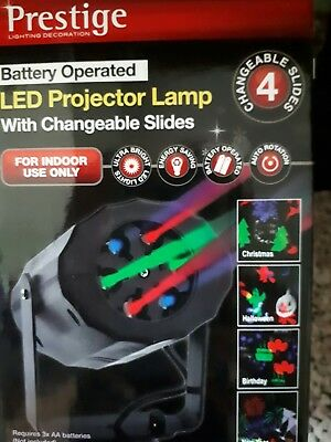 Christmas/Halloween Indoor Ultra Bright LED Projector Light/Changeable Slides